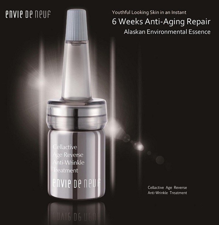 New! Cellactive Age Reverse Anti-Wrinkle Treatment