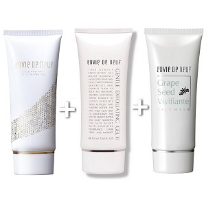 Trio Exfoliating Cleansing set A RP$252